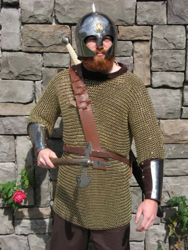 Brass Chainmail Shirt